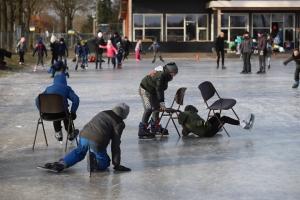 1 maart 2018 IJspret op de ijsbaan